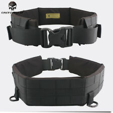 EMERSON MOLLE Padded Patrol Belt Military Hunting Duty Army Carrier Black EM1760
