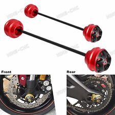 Front and Rear Axle Slider Protector For Honda CBR1000RR 03-16,CBR954RR 02-04