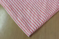 Yards Natural print 100% cotton fabric Pink Strip hand block print fabric Fab202