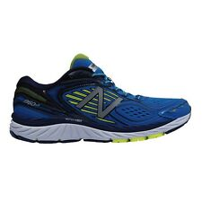 New Balance 860V7 (2E) MEN'S RUNNING SHOES, BLUE/YELLOW- Size US 11.5, 12 Or 13