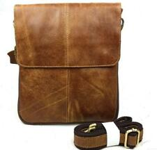 Men's Genuine Leather Handbag Briefcase Tote Laptop Shoulder Bag Messenger Bag
