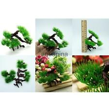 Artificial Plastic Tree Fish Tank Aquarium Terrarium Background Decoration