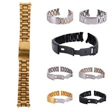 Fashion Metal Watch Bracelet Stainless Steel Men Watch Band Strap Accessories