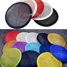 Round Sinamay DIY Base Great for Making Fascinators Party Hats Craft Supplies