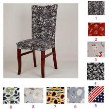 Home Dining Room Chair Cover Stretchy Washable Slipcover Wedding Banquet Decor