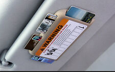Car Sun Visor  IC Card Organizer CD Card Holder Pocket Storage Holder
