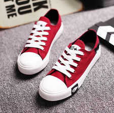 New Women Fashion Sneakers Casual Comfort Flats Canvas Shoes