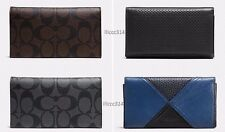 $125 COACH Phone Case Wallet in Signature/Perforated/Patchwork LEATHER iPhone 6