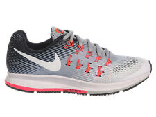 NEW WOMENS NIKE AIR ZOOM PEGASUS 33 RUNNING SHOES TRAINERS WOLF GREY / WHITE