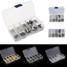 DIY Jewelry Findings Accessories Kit Box Set End Cap Jump Rings Lobster Clasp