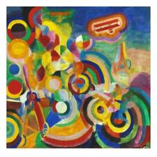 Delaunay: Hommage Bleriot Giclee Print by Delaunay, Robert