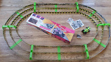 Rare 1989 Lanard Toys WHIZZER Track System with Vehicles
