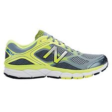 New Balance 860v6 MEN'S RUNNING SHOES, GREY/YELLOW - Size US 9.5, 10 Or 10.5