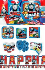 NEW Thomas The Tank Engine Birthday Party Tableware Thomas and Friends Favours