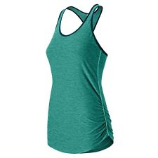 New Balance WOMEN'S PERFECT TANK Keeps Cool & Dry GREEN *USA Brand - Large Or XL