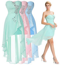 New Chiffon Short Formal Evening Prom Party Homecoming Cocktail Bridesmaid Dress