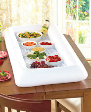 Inflatable Cooler Buffet Salad Party Picnic Food Drink Portable White Ice Bar
