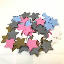 White Pink Blue Gold Silver Plastic Balloon Weights Star Shape For Helium Latex