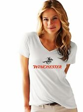 winchester logo  FRUIT OF THE LOOM LADIES T-SHIRT NEW PRINT BY EPSON