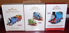HALLMARK THOMAS THE TANK ENGINE & FRIENDS 2006 CHERRY CARGO 2007 PERCY 2016 U PK