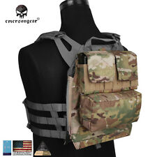 EMERSON Molle Backpack Panel By Zip For Plate Carrier Vest AVS JPC2.0 CPC EM9286