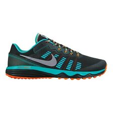Nike Dual Fusion Trail-2 MEN'S RUNNING SHOES,BLACK/SILVER-Size US 7, 8, 8.5 Or 9