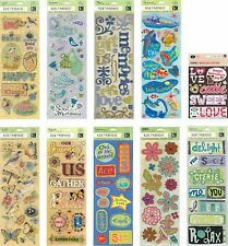 K & Company Adhesive Chipboard Scrapbook Accents Stickers *HUGE DISCOUNT* N XS