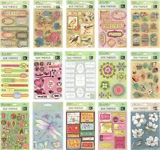 K & Company Grand Adhesions Dimensional Scrapbook Stickers *HUGE DISCOUNTS* N XS