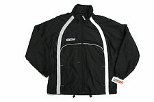 CCM Team Jacket Black Hockey Warm Up Mens and Youth