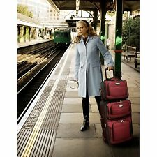 Travelers Choice Travel Select Amsterdam 4-Piece Softshell Deluxe Expandable