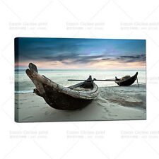 Large Wall Art The Ocean Ship Seascape Home Decor Painting Printed On Canvas