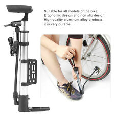 Mini Aluminum Alloy Bicycle Manual Pump Lightweight Bike Cycling Air Pump WS