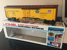 Lionel O scale Union Pacific Reefer 6-9811 with box. Excellent condition!!!