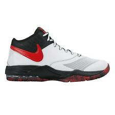 Nike Air Max Emergent MEN'S BASKETBALL SHOES, WHITE/BLACK/RED- US 11.5, 12 Or 15