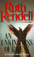 An Unkindness of Ravens, Rendell, Ruth, Used; Very Good Book
