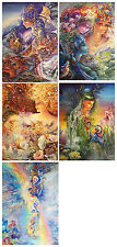 Fantasy Art Greeting Card by Josephine Wall - Blank for any Occasion