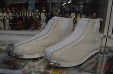 Star Wars - Boba Fett Complete Boots with Spikes White PRE-PRODUCTION PROP