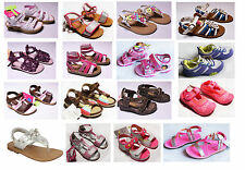 NEW Girls Toddler Sandals Summer Oshkosh Carters Shoes 5 6 7 8 9 10 11 12 NWT