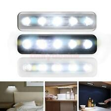 Adhesive Push/Tap/Touch Night Light under Cupboard Cabinet Closet Battery Lamp