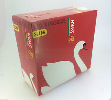 Swan Red Kingsize Rolling Papers Cigarette x5,x10,x20,x50 (FULL BOX) Booklets