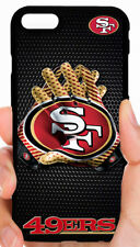 SAN FRANCISCO 49ERS NFL FOOTBALL PHONE CASE COVER FOR IPHONE 7 6 6S PLUS 5C 5S 4