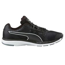 Puma Speed-500 Ignite MEN'S RUNNING SHOES, BLACK/WHITE - Size US 7,8, 8.5 Or 9