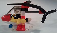 LEGO CITY 4900 Fire Helicopter COMPLETE Set Minifigure & Helicopter RETIRED