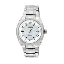 Citizen ECO-DRIVE Mens Analog Watch Casual Silver BM6901-55B