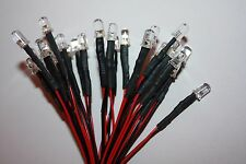 10x 5mm LED round Pre-Wired 30cm LEDs Resistor 5mm