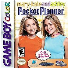 Mary Kate and Ashley Pocket Planner Nintendo Gameboy Color GBC - FAST SHIPPING!