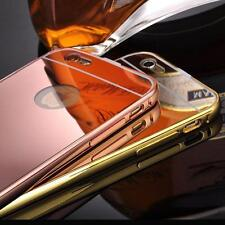 Vouge Luxury Aluminum Ultra-thin Mirror Metal Case Cover for iPhone 6/6S