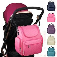 Multifunction Baby Diaper Bag Changing Mat Mummy Handbag Backpack Messenger Bag
