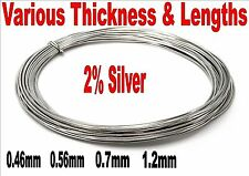 LOW MELTING POINT SOLDER LMP 62% TIN 36% LEAD 2% SILVER 3 FOOT - 60 FOOT