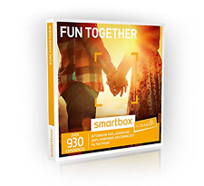 Buyagift Fun Together Gift Experiences Box - 930 Gift Experiences - For Couples,